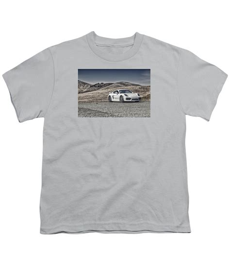 porsche cayman gt4 in the youth t shirt for sale by