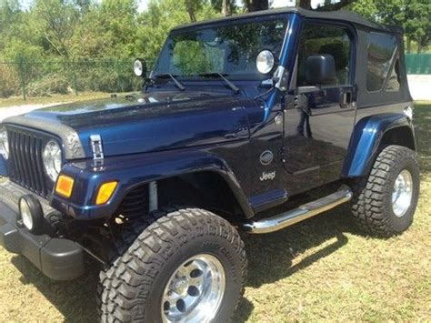 Rocky Mountain Jeep Purchase Used 2005 Jeep Wrangler Rocky Mountain 4x4 In