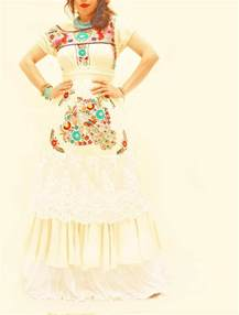 embroidered mexican wedding dress handmade mexican embroidered dresses and vintage treasures