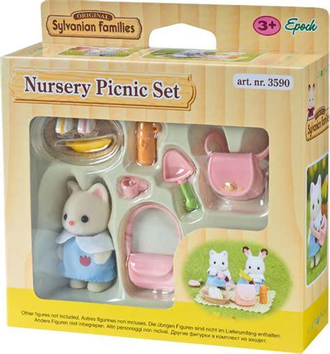 Sylvanian Families Nursery Picnic Set sylvanian families nursery picnic set 3590 at papiton
