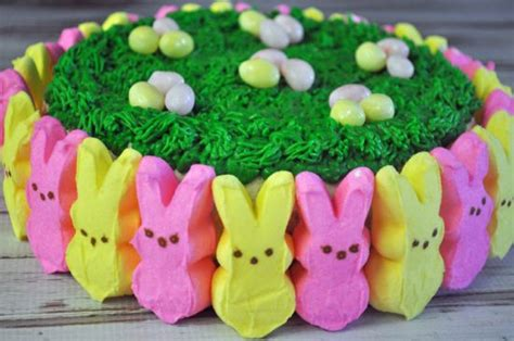 peeps easter cake mommys fabulous finds