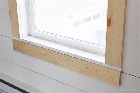 Window Sill Moulding How To 187 How To Trim A Window Sill Inspiring Photos