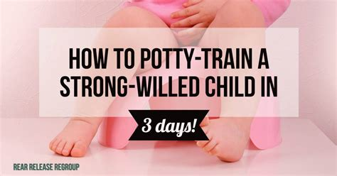 how to re potty my how to actually potty a strong willed child in 3 days using 10 key tips