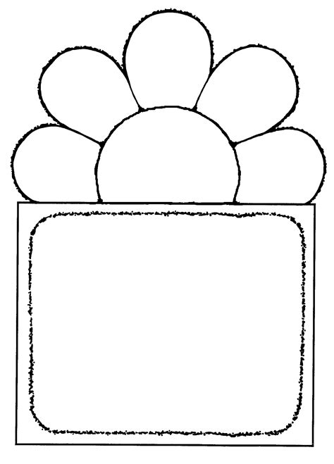wildflower clipart black and white pencil and in color wildflower