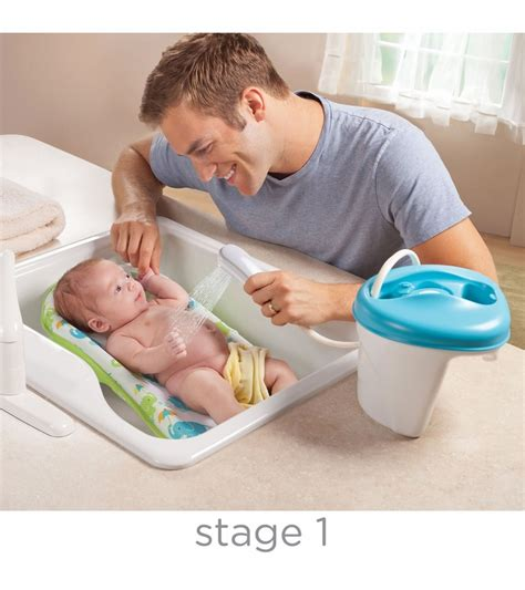 infant to toddler bathtub summer infant newborn to toddler bath center shower