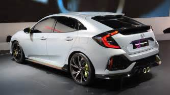Honda Hatch Back 2016 Honda Civic Hatchback Trend Car Gallery