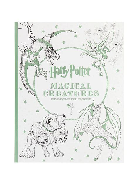 harry potter coloring book free shipping harry potter magical creatures coloring book topic