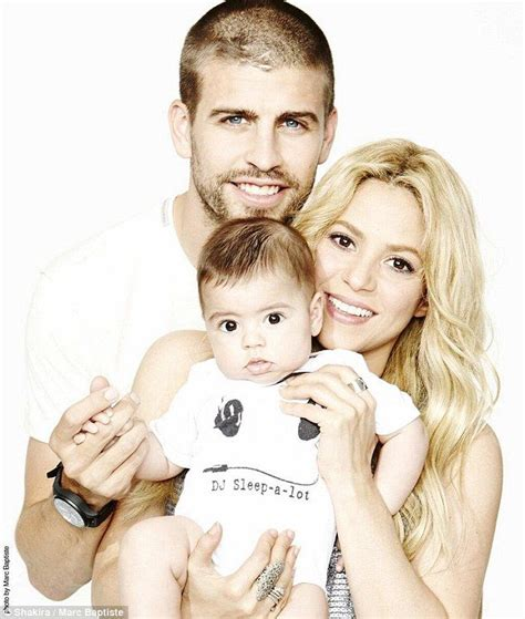 shakira welcomes baby boy and his name is e news shakira and milan cheer on husband gerard pique pique