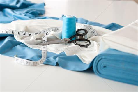 dress design equipment fashion designer studio with professional equipment stock