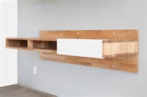 Walnut Wood Desk Floating Desks That Make Legs Seem Obsolete California