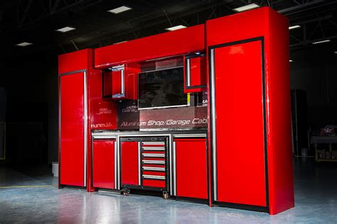 car guy garage  foot wide aluminum cabinets