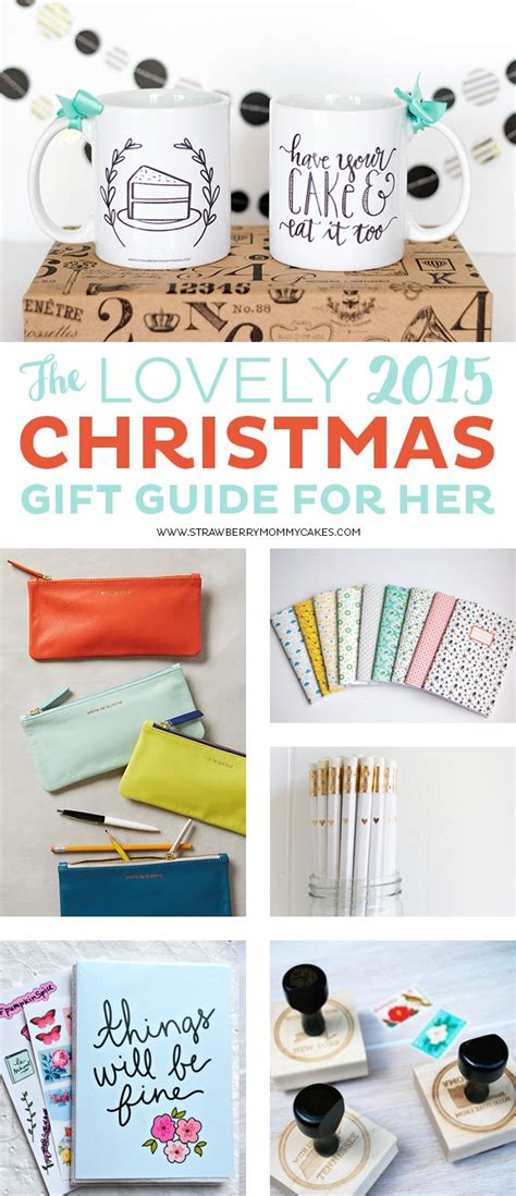 the lovely 2015 christmas gift guide for her printable crush