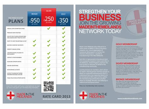 rate card design template business card design rates images card design and card