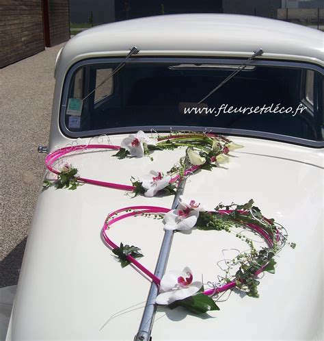 Decoration Mariage Voiture by D 233 Coration Voiture Fleurs Et D 233 Co