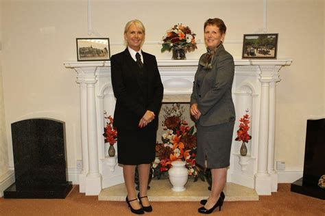 two new but familiar faces arrive at woodville funeral