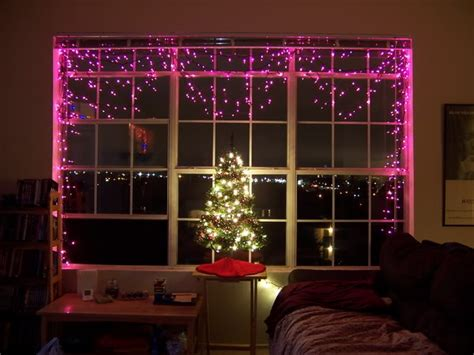 designing windows with christmas lights how to use lights in indoor decor