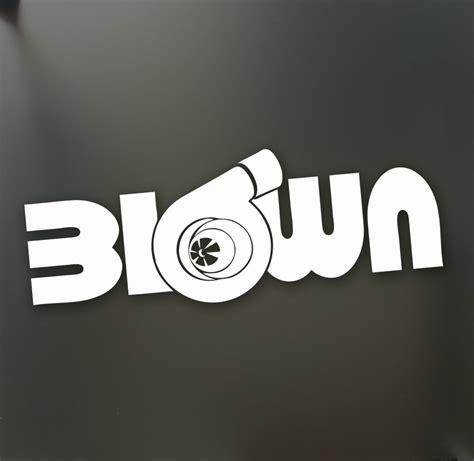 jdm honda sticker turbo blown boost sticker funny jdm drift honda lowered