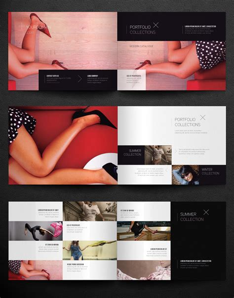 catalog template free free fashion catalogue template by pixeden templatix
