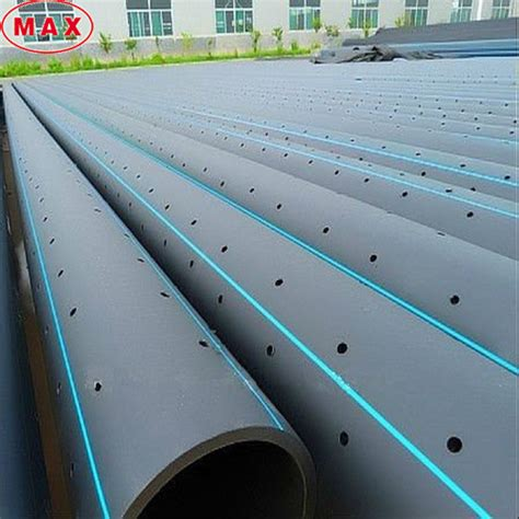 Pipa Hdpe Perforated Hdpe Slotted Drain Perforated Pipe