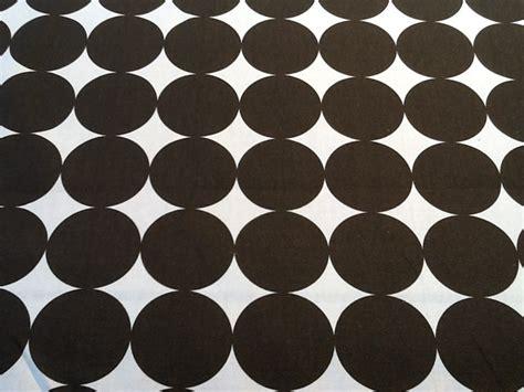 Brown And White Upholstery Fabric Dwell Studio Retro Dot Chocolate Brown White Modern