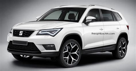 seat s large suv influenced by the skoda kodiaq in new