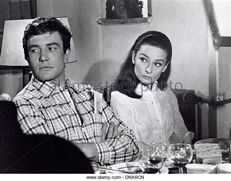 audrey hepburn and albert finney two for the road audrey stock photos two for the road