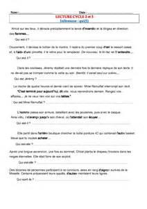Lecture compréhension,CE1,CE2,CM1 et CM2 les inférences
