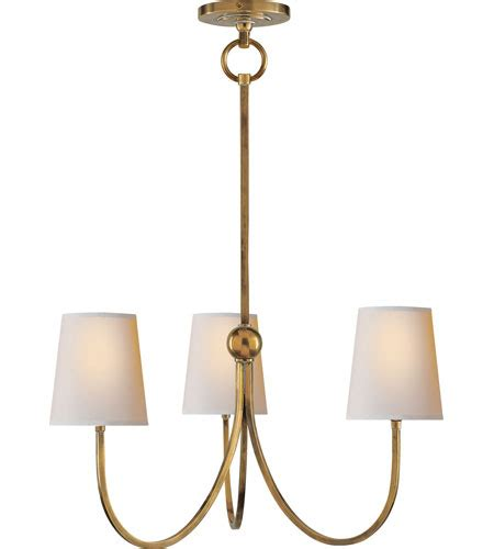 visual comforts visual comfort thomas o brien reed small chandelier in