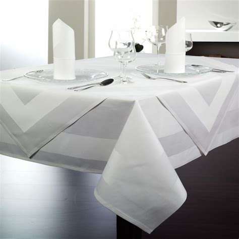 nappe pour table en verre nappe blanche pour restaurants traiteurs et h 244 tels lti