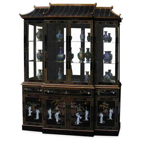 black china hutch cabinet black corner china cabinet home furniture design