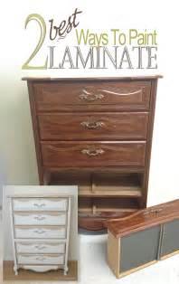 2 best ways to paint laminate furniture salvaged