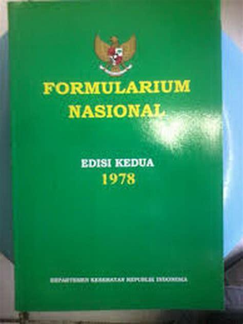 Buku Formularium Medicamentorium Selectum Fms jual buku formularium nasional multazam collection