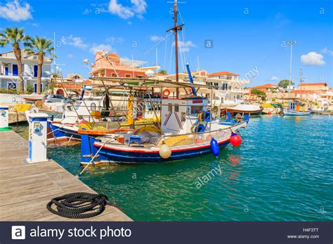 buy fishing boat in greece colorful traditional greek fishing boats in port of