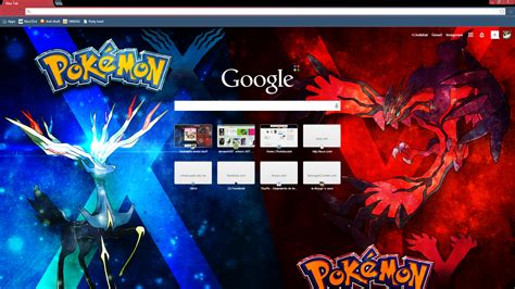 google themes video pokemon x y chrome theme by liatlns on deviantart