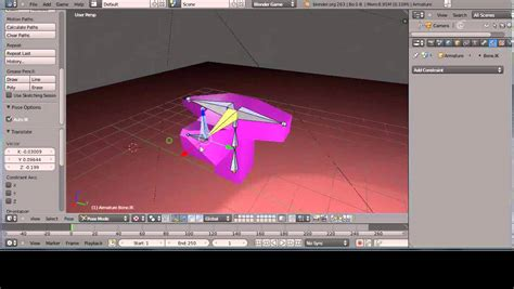 blender tutorial inverse kinematics blender 2 63a tutorial basic armatures and bones part