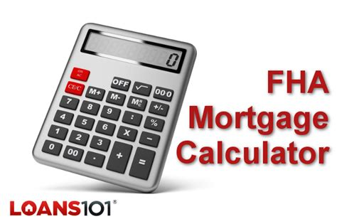 fha mortgage calculator