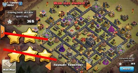 latest clash of clans th9 base layouts war clans say no to 3 star clash of clans th9 war base