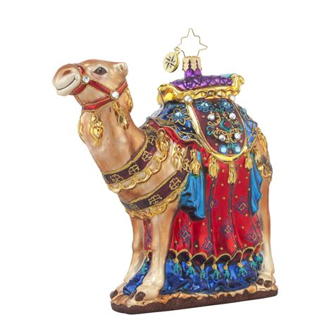 radko 1017681 from the far east jeweled camel ornament