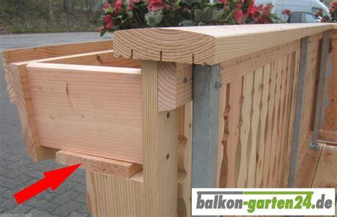 Balkongeländer Holz Einzelteile by Bodenbrett Blumenkasten Douglasie 200 Cm Balkon