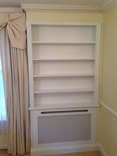radiator cover bookcase harrow builders and bespoke