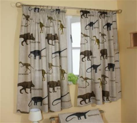 childrens dinosaur curtains the linen shop online shop groovycart childrens