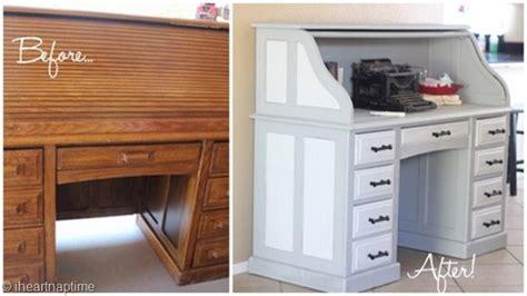 Best Paint For A Desk by Vintage Gray Desk Makeover I Nap Time