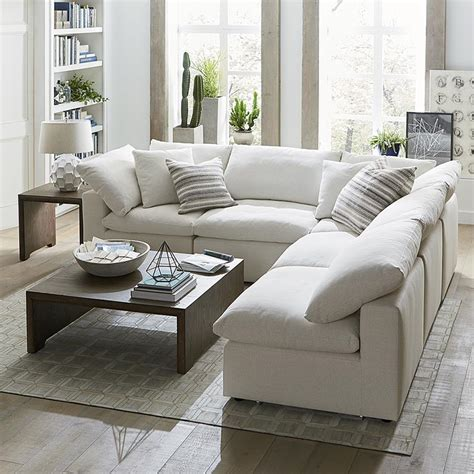 armless sectional sofa transitional living room armless sectional sofa roselawnlutheran