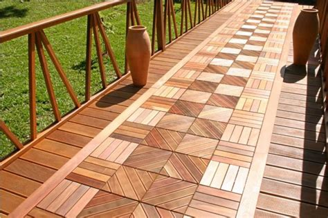 Outdoor Deck Flooring by 15 Wooden Tiles Ideas For Inviting Outdoor Flooring To Get Idea From Top Inspirations