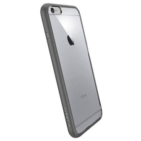 Spigen Iphone 6s Plus 6 Plus spigen ultra hybrid iphone 6s plus 6 plus bumper gunmetal reviews mobilezap australia