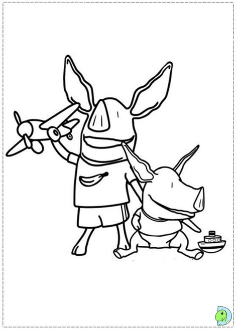nick jr olivia coloring pages olivia the pig coloring page dinokids org