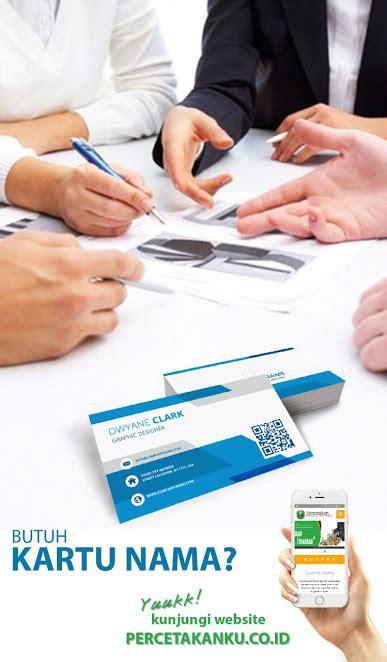 tempat membuat kartu nama di jakarta cetak kartu nama murah percetakan ku mitrakom fajar utama