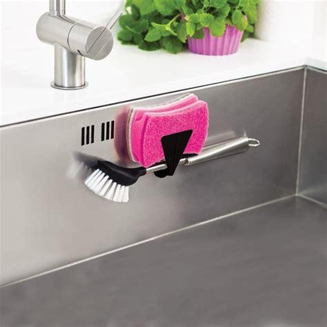 magnetic sink sponge holder magnetic sponge holder for sinks lapadd
