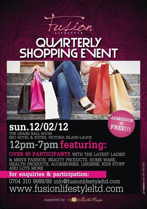 s day shopping the fusion lifestyle quarterly shopping event heads to
