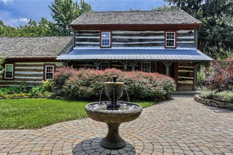 Log Cabins For Sale In Pennsylvania by House Tour An Updated Log Cabin In Pennsylvania